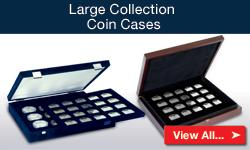 Large Collection Coin Cases