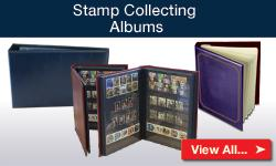Stamp Collecting Albums
