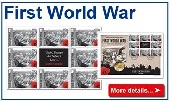 First World War coins & stamps