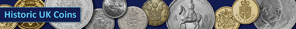 Historic UK Coins Banner