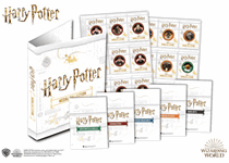 The Official Harry Potter Medal Collection Collector's Album. Comes complete with 5 x Title Pages and 5 x Collection Pages (with space for 45 Official Harry Potter Medals).