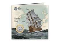 This UK £2 has been struck by The Royal Mint and has been issued to mark the 400th anniversary of the Mayflower's voyage. Stuck to a BU finish and comes in a bespoke Royal Mint presentation pack.