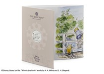 This BU Pack features the official Piglet issued by The Royal Mint. It has been struck to a Brilliant Uncirculated quality and comes presented in bespoke Royal Mint presentation pack.