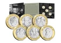 2020 marks the 150th anniversary of Charles Dickens death. To commemorate such a legend in literature, Jersey have released a BU £2 Set featuring some of his most famous works.
