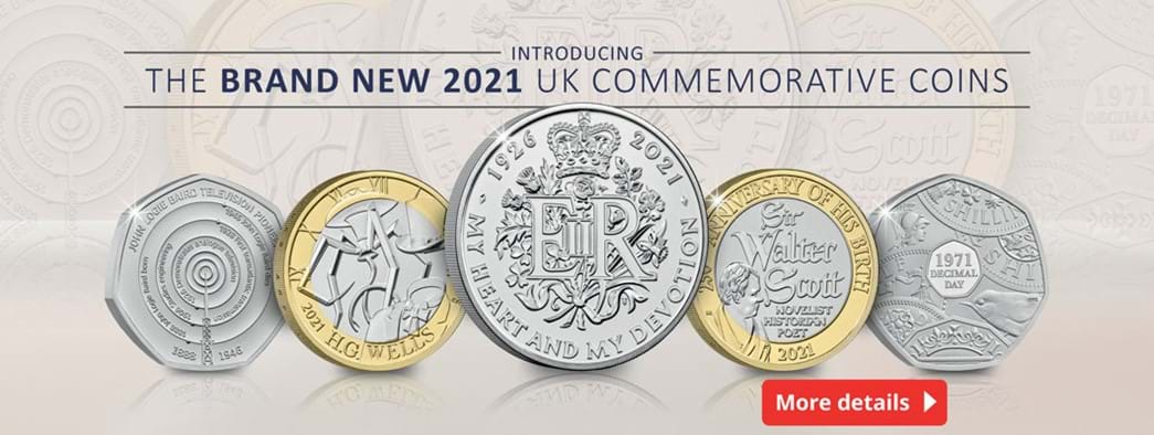 Introducing the brand new 2021 UK Commemorative Coins