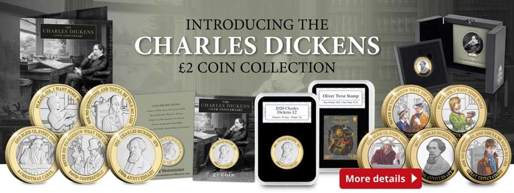 The new Charles Dickens £2 Coin Collection