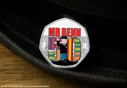 Mr-Benn-50th-Anniversary-Silver-Proof-50p-Coin-Product-Images-Lifetsyle-Coin-on-Bowler.jpg