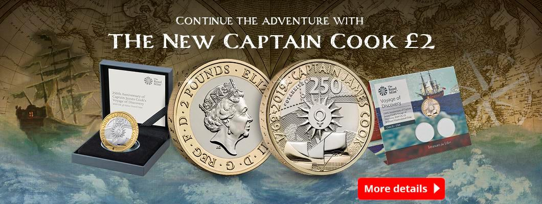 Continue the Adventure with the New Captain Cook £2