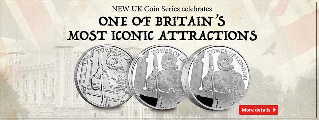 New UK Coin Series celebrates one of Britain's most iconic attractions