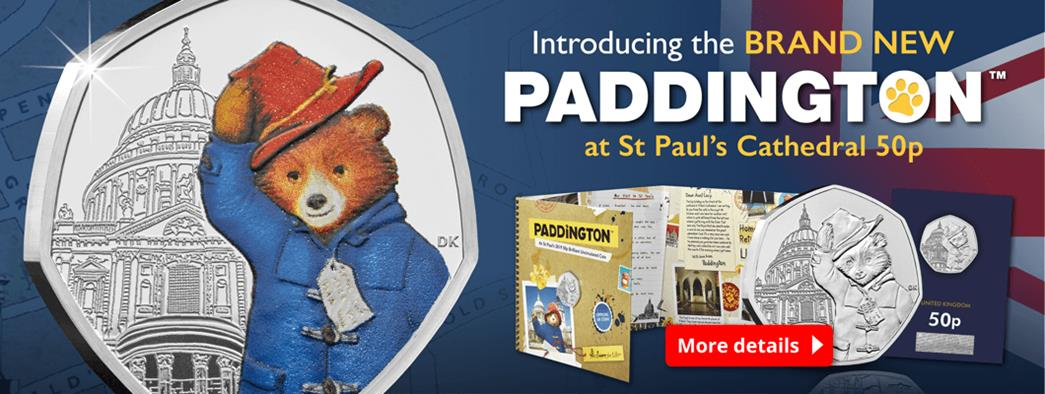 Introducing the BRAND NEW Paddington at St Paul's Cathedral 50p