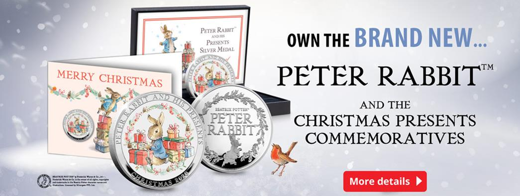 Own the Brand New Peter Rabbit™ and the Christmas Presents Commemorative