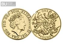 This significant commemorative £1 coin marks the release of the last round definitive £1 coin in the UK.