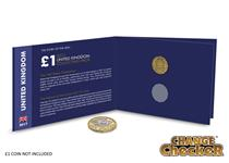 The Story of the new £1 Collector's Pack features the original 12-sided brass Threepence coin. There is also space for the new 12-sided £1 coin which is due to enter circulation in March 2017.