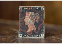 A used Penny Black, the first ever postage stamp in the world. This Penny Black is of standard quality. Number of cancellations and margins will vary.