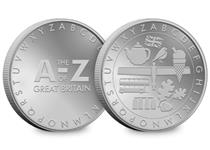 This is the Official Change Checker A-Z of Great Britain 10p Completers Medal. Add this medal to complete your A-Z 10p collection. Protectively encapsulated to preserve for a life-time.