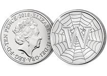 This 10p coin has been issued by The Royal Mint to celebrate Great Britain. It features the letter 'W' and represents the World Wide Web. This 10p is an Early Strike UK uncirculated 10p coin.