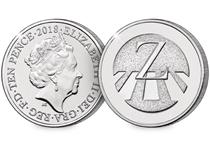 This 10p coin has been issued by The Royal Mint to celebrate Great Britain. It features the letter 'Z' and represents Zebra Crossing. This 10p is an Early Strike UK uncirculated 10p coin.