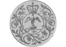 In 1977 Queen Elizabeth II celebrated her Silver Jubilee, and to mark the occasion, the Royal Mint produced this commemorative crown.