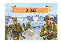 The '75th Anniversary of D-Day £2 Collector Card' is an exciting way to collect the BRAND NEW 2019 75th Anniversary of D-Day £2 coin .