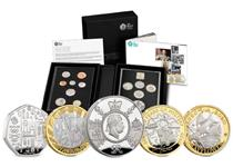 The 2020 Annual Collector Proof Coin Set issued by the Royal Mint. Contains 8 definitive UK coins and 5 new commemorative issues for 2020. All coins are finished to proof standard.