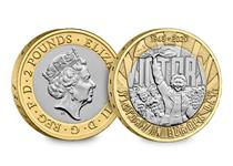 Issued to mark the 75th anniversary of Victory in Europe Day. It was initially issued as part of The Royal Mint's 2020 Commemorative Coin Set. £2 Protectively encapsulated and certified as BU quality.