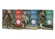 This collection includes the three UK 2020 Dinosaur 50p BU Packs issued by The Royal Mint. Each coin is presented in its original bespoke Royal Mint presentation pack and is struck to BU quality.