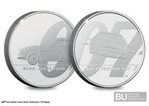 Coin 1 & 2 in the James Bond £5 series issued in 2020 as part of a 3-coin series celebrating the UK's favourite secret agent, James Bond. Protectively encapsulated & certified as BU quality.
