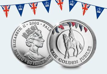 The 2002 Golden Jubilee Coin