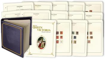 The Queen Victoria Stamp Collection