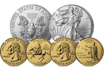 15th Anniversary of the US State Quarter Set