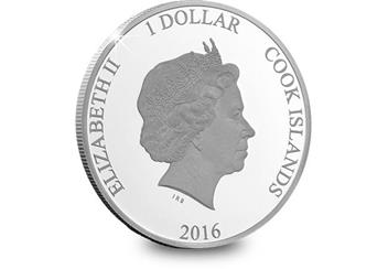 425H - Queens 90th Birthday Silver Coin (3)