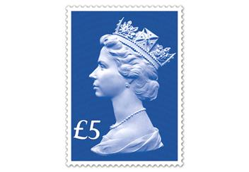 Sapphire Jubilee First Day Cover Definitive Stamp