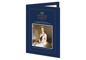Sapphire Jubilee First Day Cover Folder