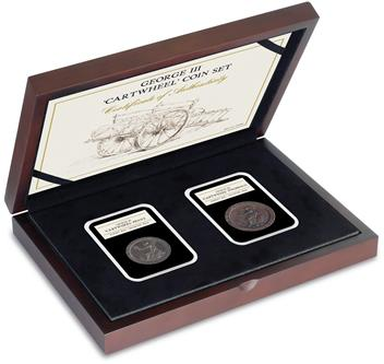 1797 George III 'Cartwheel' Coin Set 2