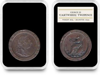 1797 George III 'Cartwheel' Coin Set 3