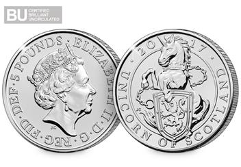 Unicorn-of-Scotland-5-Pound-Coin-BU-Logo