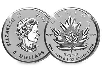 2017 Maple Leaf Coin 1