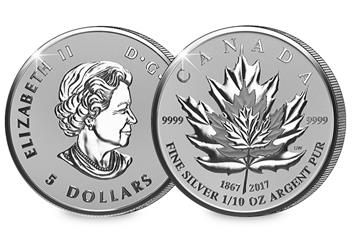 2017 Maple Leaf Coin 10