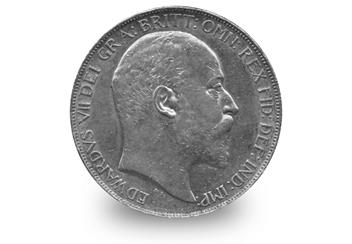 Edward VII Silver Crown Obverse