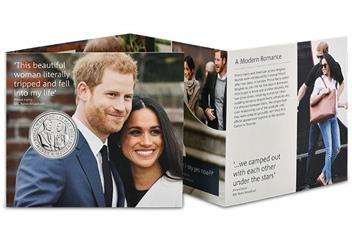 2018 Royal Wedding Bu Five Pound Royal Mint Packaging1