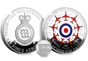 Red Arrows Signature With 10P