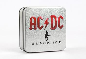 2018 Acdc Black Ice 2Oz Silver Black Proof Coin Display Case