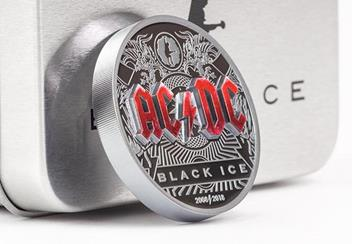 2018 Acdc Black Ice 2Oz Silver Black Proof Coinreverse3