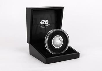 Star Wars 2018 Death Star Ultra High Relief 2Oz Silver Proof Coin In Box Product Images6