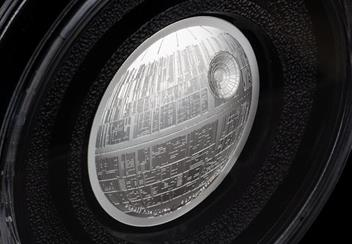Star Wars 2018 Death Star Ultra High Relief 2Oz Silver Proof Coin In Box Product Images4