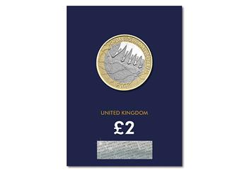2019 Certified Bu D Day 2 Pound Coin Product Images Pack Front