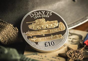 D Day 75Th Guernsey Silver Proof 5Oz Coin Lifestyle