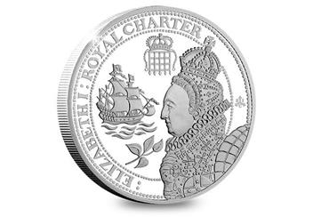 Eic 2019 Empire Collection Silver Proof Nine Coin Set Elizabeth I