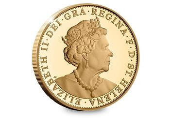 Eic 2019 Queen Victoria Gold Proof Sovereign Obverse