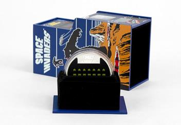 2018 Space Invaders 40Th Silver Proof Coin Display Case Open